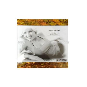 hot sale gold paua shell mdf photo frame