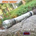 Numérique et USB Maxtoch HIDX12 affichent 6600mAh batterie 85W torche HID