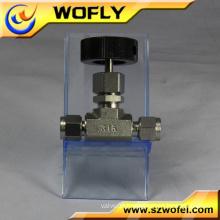 ss 316L manual cock ball valve