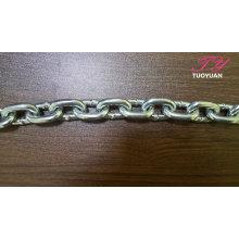 Chaînes à maillons en acier chaîne DIN766