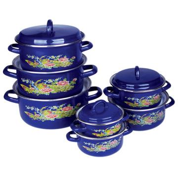 Enamel Cookware 7 PCS Set