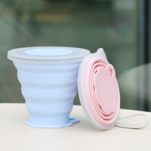 Taza de café de silicona / Taza de silicona plegable, reutilizable, plegable, nueva llegada