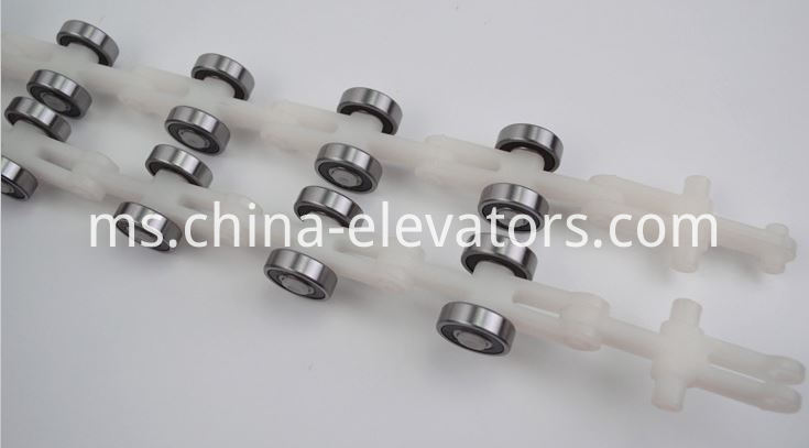 Schindler Escalator Reversing Chain 17 pair rollers Double Fork