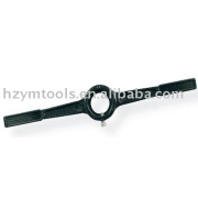 tap wrench , die handle,wrench,hand tool,die stock