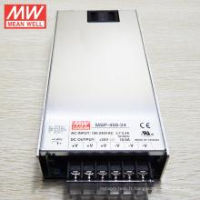 L'alimentation d'énergie de commutation de MEAN WELL 450W SMPS 24V avec UL cUL CB certificats CE MSP-450-24