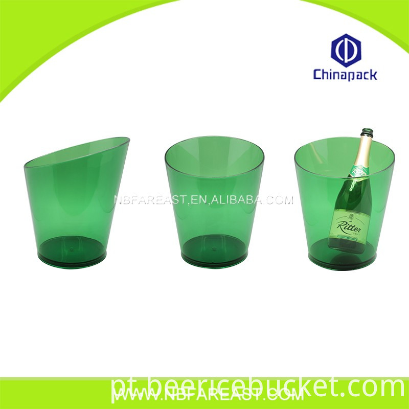 Custom wholesale ice bucket plastic wholesale