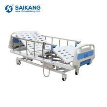 SK004 Adjustable Metal Electric Remote Control Motorized Hospital Patient Bed