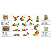 Children School tangram puzzle Building block