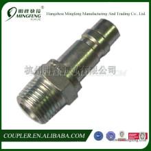 Garnitures de tuyau hydraulique en acier inoxydable compresseur d'air