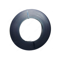 32mm steel strap coil metal srip black painted 19mm 40kg rolls ribbon black waxed on copper pipe galvanized banding