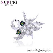 Broches vogue pour les femmes 00100 nouvelle arrivée, broche perle délicate pour les cristaux de robe de Swarovski