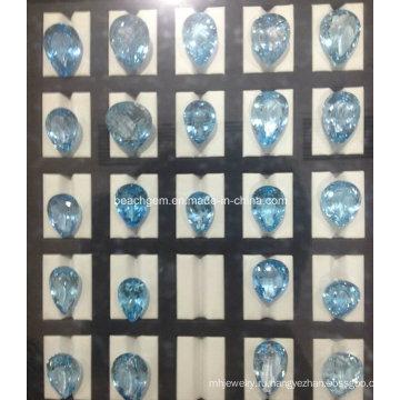 Голубой топаз ювелирные изделия параметра