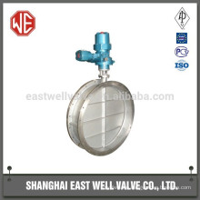 Pneumatic power butterfly valve