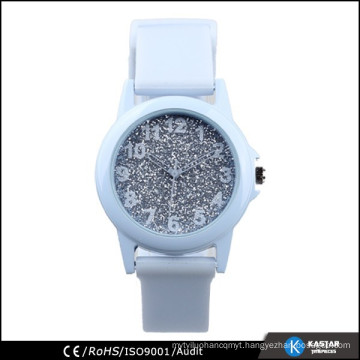 fashion quartz lady watch shinning dial plate