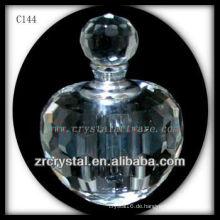 Schöne Kristallparfümflasche C144