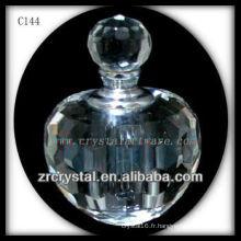 Belle bouteille de parfum en cristal C144