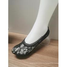 Горячие продажи кружевные женские невидимые носки