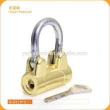 New Design Hot Sale China Suppliers Ingot padlock,Titaniuim wing shape padlock safety Cheap price door Lock