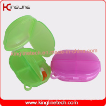 Latest Design Plastic 5-Cases Pill Box (KL-9125)