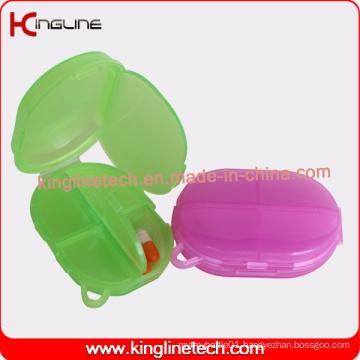 Latest Design Plastic 5-Cases Pill Box (KL-9125)