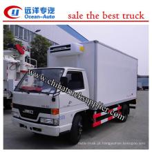 6 toneladas de caminhão refrigerador JMC Diesel Engine China supplier