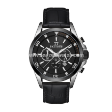 Quartz watch stainless steel for men