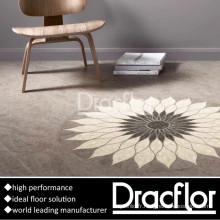 Tuile de plancher de vinyle de PVC de matière vierge (P-7083)