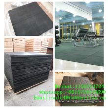 Rubber Flooring Manufacturer/Fitness Equipment Mat/Gym Rubber Flooring