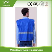Zipper Front Motorcycle Safety Vest