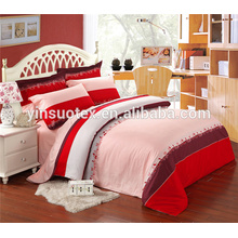Cubierta caliente de la cama del llenador del poliester del patrón del patrón de la venta caliente fijada para los bebés