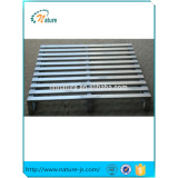 Nningbo high quality logistics transport steel stacking warehouse galvanized pallet