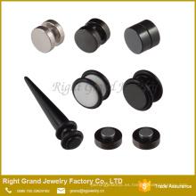 El nuevo expansor de oreja de diseño / Magnet Fake Plug expander body jewelry