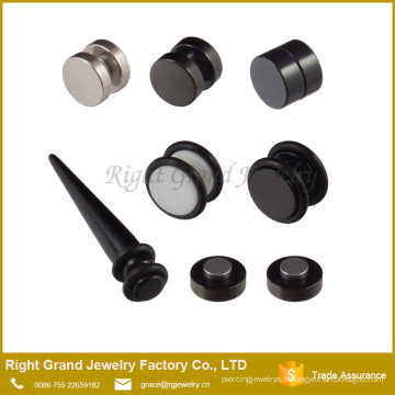 Le nouveau design expandeur oreille / Magnet Fake Plug expandeur bijoux de corps