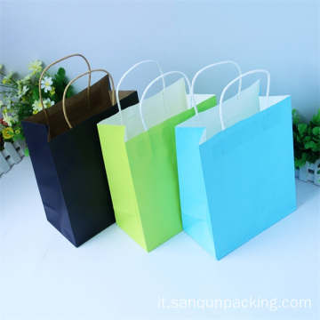 Shopping bag di medie dimensioni 21 * 8 * 27 cm