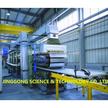 Máquina contínua em painel de poliuretano PU / linha de produção