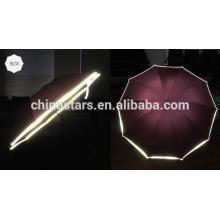 Oi-visível guarda-chuva reflexivo impermeável