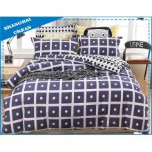 4 Stück Baumwolle Bettwäsche Bettbezug Set