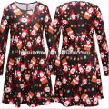 Новый Дизайн Женщин Платье Повседневная Стильная Новогодняя Одежда Плюс Размер Жир Женщины Одежда