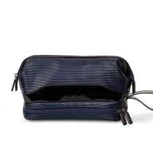 PU Leather Travel Shaving Toiletry Bags Mens Ladies