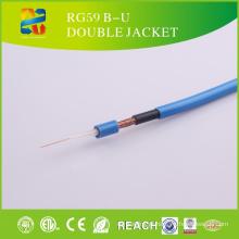 15 anos de fabricação profissional produzir cabo coaxial Rg59c / U, Rg59b / U