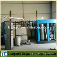Usine d'oxygène cryogénique Fabrication de la Chine