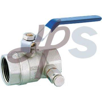 brass drainage ball valve