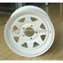 Roues de remorque à hautes performances, roues de remorque 5x139.7 pour vente à chaud