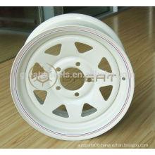 High performance trailer wheels, 5x139.7 trailer wheel rims for hot selling