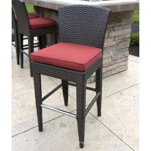Cadeira de Bar mobília ao ar livre do Rattan pátio jardim de vime da resina