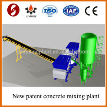 Hoe sale MD1200 Mobile Concrete Batching Plant,mobile concrete mixing plant,mobile concrete plant