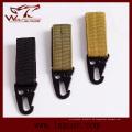 Outdoor-Militär Airsoft taktische Molle-Schlüsselanhänger praktische zentrale Schnalle Nylon