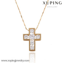 32279 Pendentif en croix plaqué or Xuping
