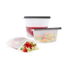 Food grade silicone preservation bag for food storage with fda