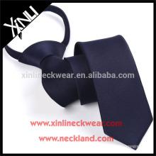 Cravate d'école tissée de tirette de polyester de haute qualité